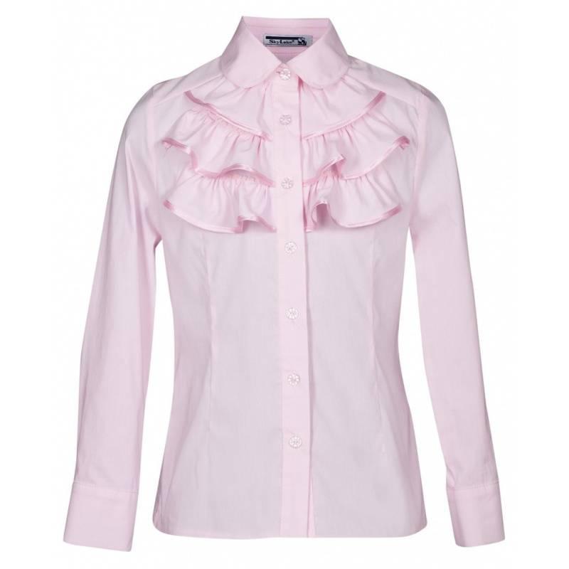 Купить ШФ-923, Блузка SkyLake, цв. розовый, 36 р-р, Блузки для девочек