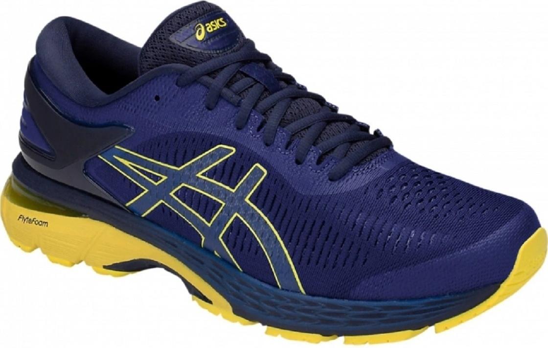 Кроссовки Asics Gel-Kayano 25, asics blue/lemon spark, 10.5 US Gel-Kayano 25 по цене 11 090