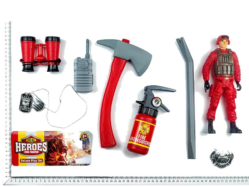 Набор пожарного c фигуркой и акссесуарами