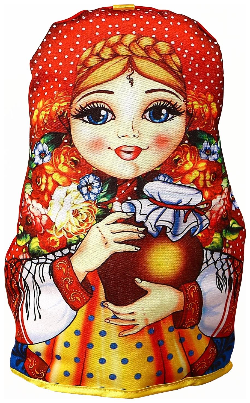 Грелка на чайник Sima Land Матрешка с горшочком