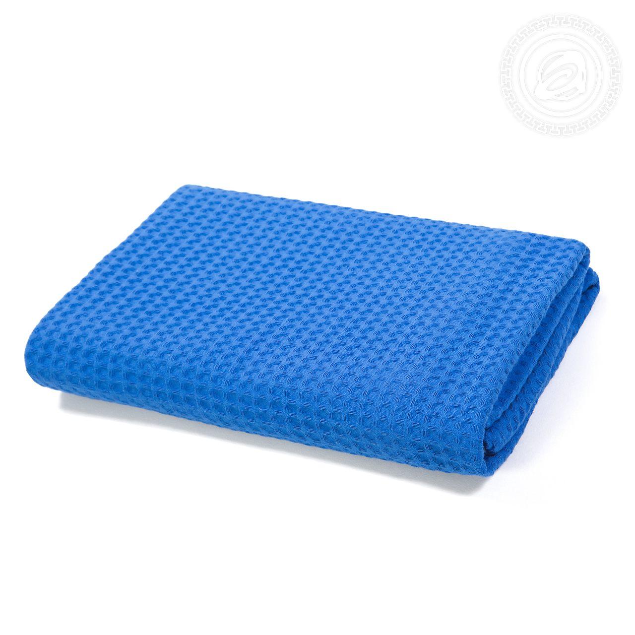 Банное полотенце АРТ ДИЗАЙН синий 70x140