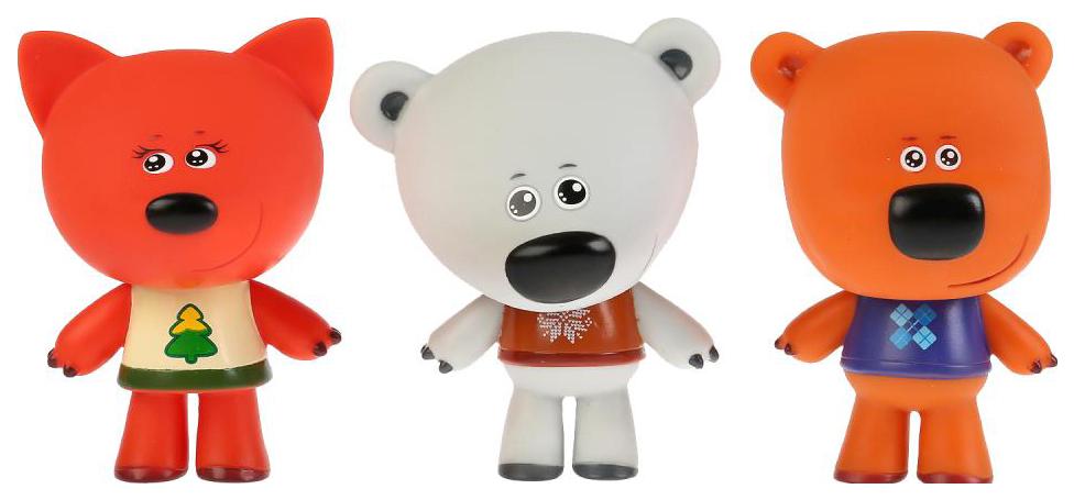 Купить Набор из 3-х игрушек для ванны Капитошка Ми-ми-мишки, Игрушки для купания