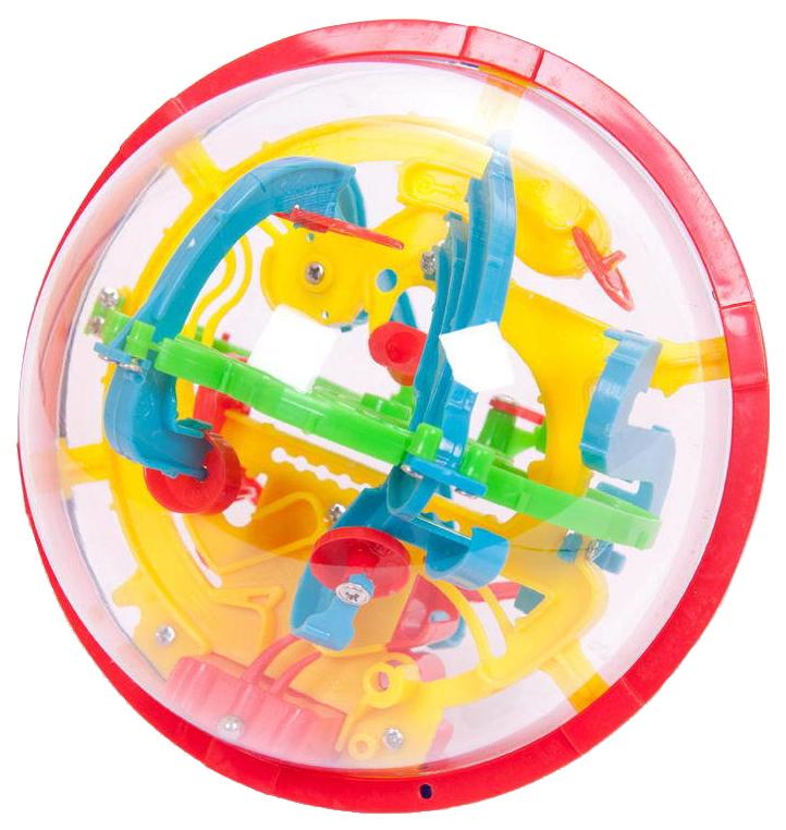 Купить Интеллектуальный шар 3D ABtoys 100 барьеров, Игрушки головоломки