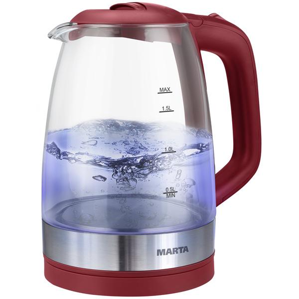 Чайник электрический Marta MT 1098 Vinous Garnet