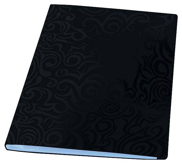 Папка с файлами Panta Plast Tai Chi, 40 файлов, плотность 700 мкр, А4, Черный