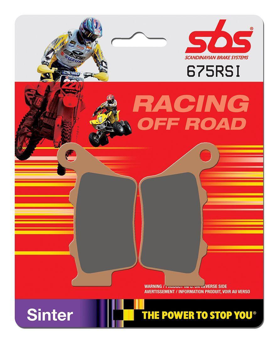 Тормозные колодки задние SBS 675RSI для мотоциклов