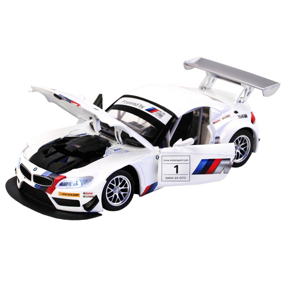 Купить Машинка металлическая Автопанорама BMW Z4 GT3 масштаб 1:24 JB1200123, Коллекционные модели