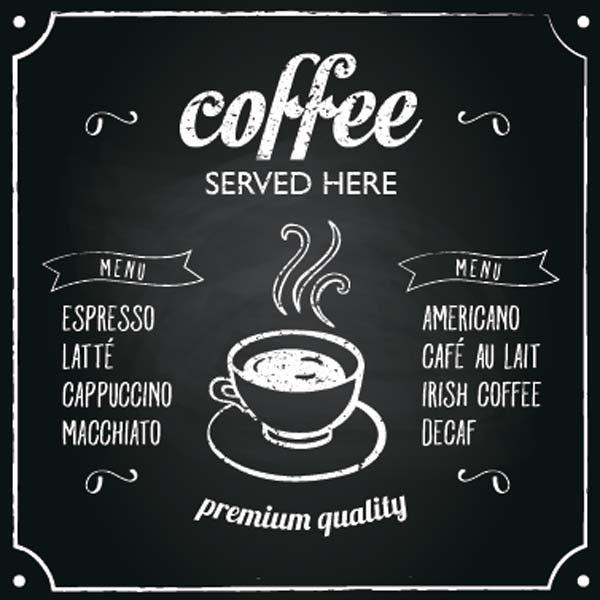 Картина на холсте 30x40 Coffee served Ekoramka HE-101-435