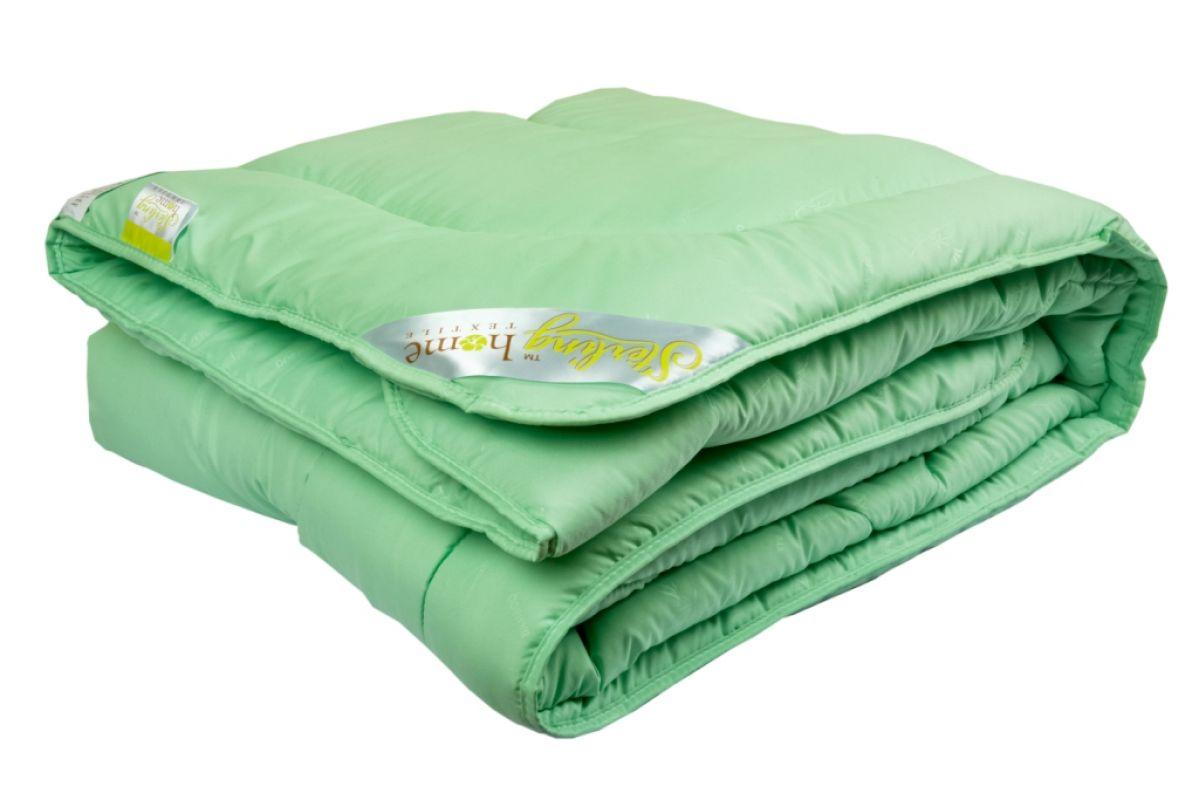 Одеяло Sterling Home Textile БАМБУК (всесезонное) микрофибра 140x205, 1,5 спальное