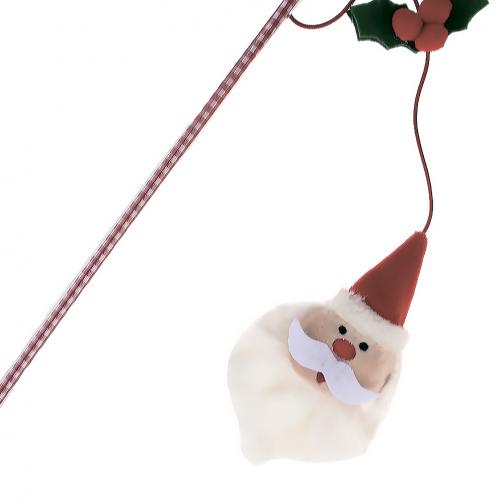 Игрушка для кошек GiGwi Санта, дразнилка