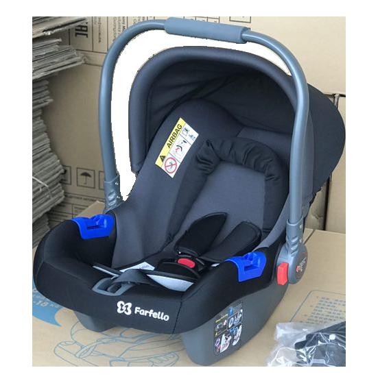 Автокресло детское Farfello, цв. серо-чёрный KS-2150 g