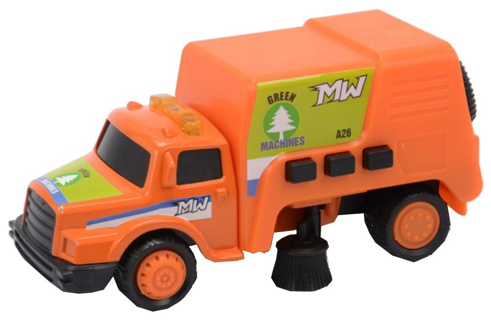 Купить Машина для чистки улиц Soma 71330 со световым и звуковым эффектом 12 см, Строительная техника