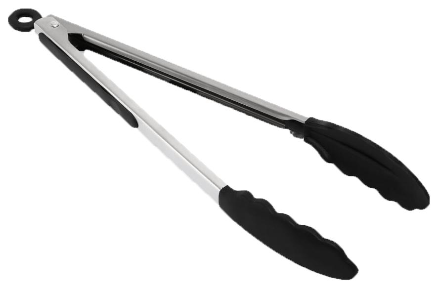 Щипцы кухонные Dosh | Home Orion 100126 Серебристый, черный