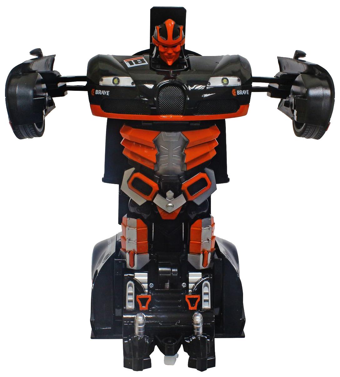 Купить Робот-трансформер на радиоуправлении Т10861 1Toy спортивный автомобиль оранжевый, 1 TOY, Радиоуправляемые роботы