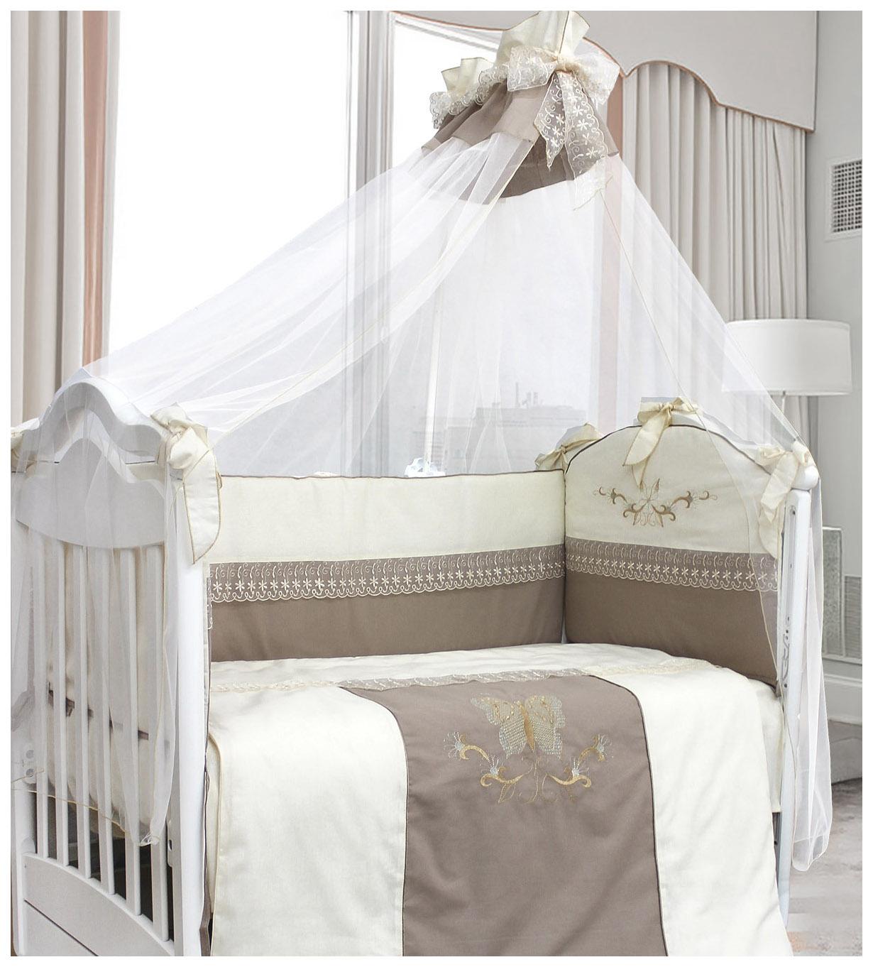 Комплект детского постельного белья L'Abeille Arabella 1127 'Arabella' 7пр