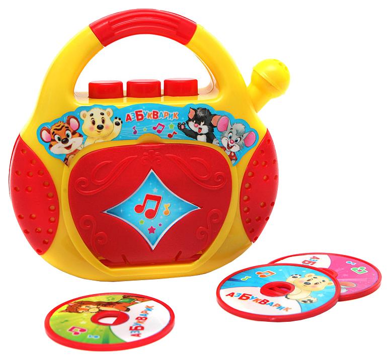 Интерактивная игрушка Азбукварик CD Плеер Песенки Чудесенки
