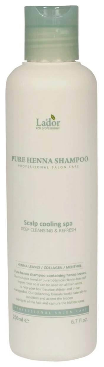 Шампунь La'dor Pure Henna Shampoo 200 мл