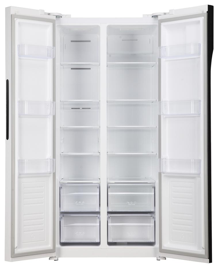 Холодильник SHIVAKI SBS 440DNFW White