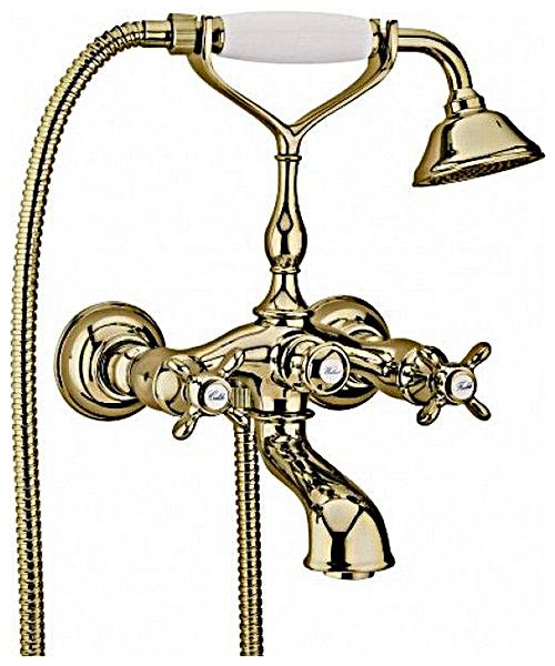 Смеситель Webert Ottocento OT720201065 бронза для ванны с душем