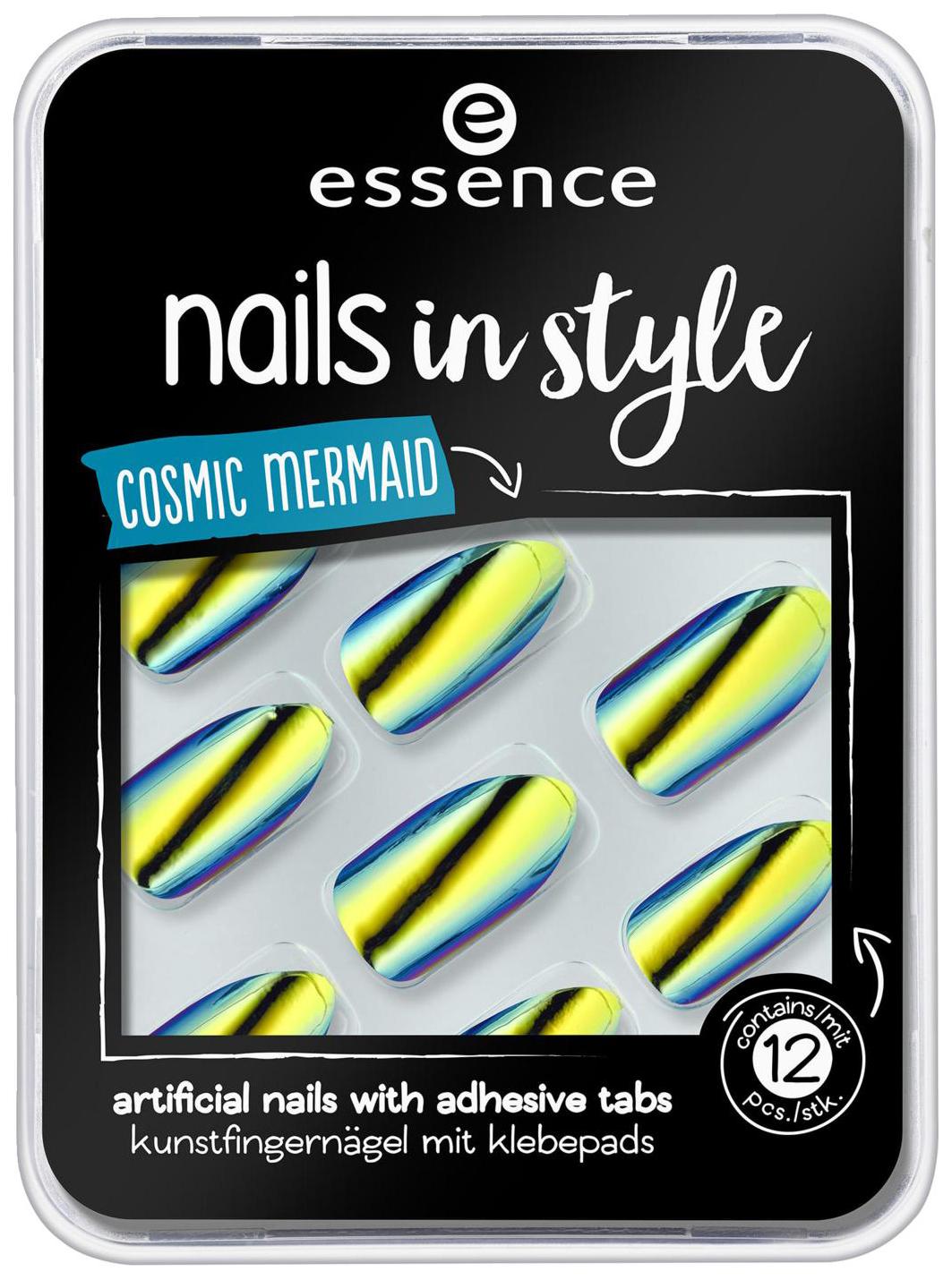 Накладные ногти Essence Nails In Style 07 Cosmic Mermaid