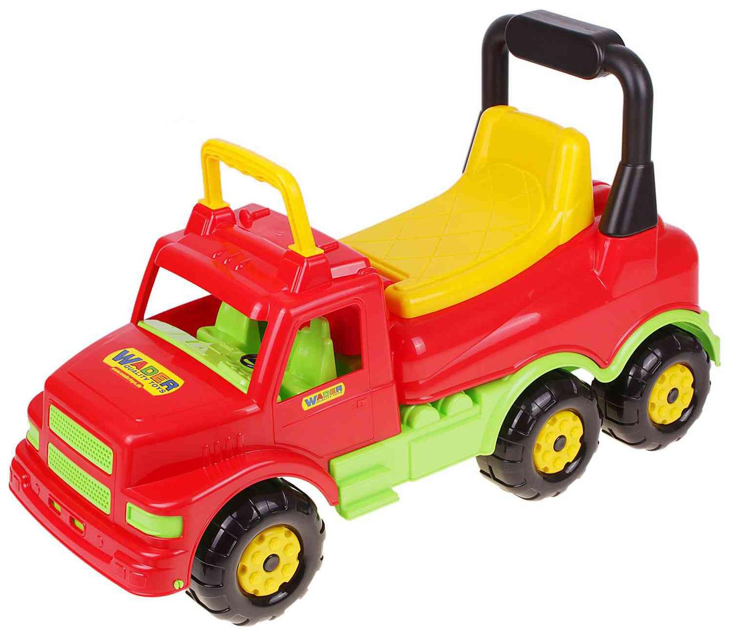 Купить Детский транспорт, Каталка-автомобиль Wader Буран №1 красная,