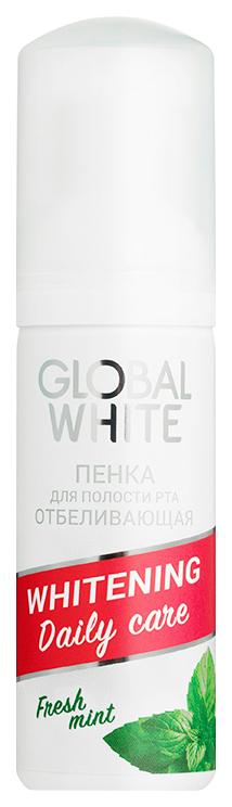 Ополаскиватель для рта Global White Свежая мята 50 мл