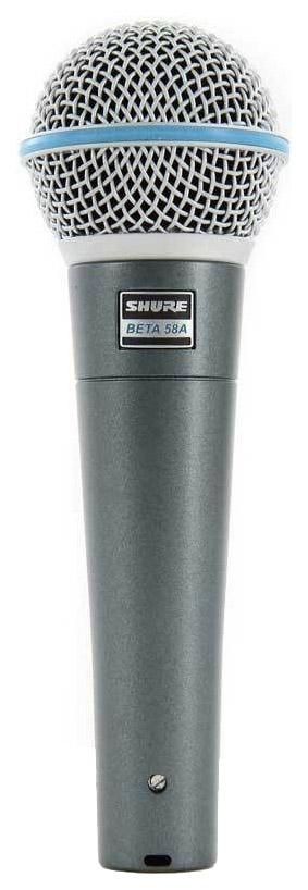 Микрофон Shure Beta 58A вокальный