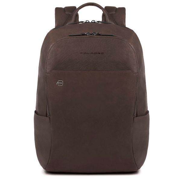 Рюкзак кожаный Piquadro Black Square кожаный коричневый