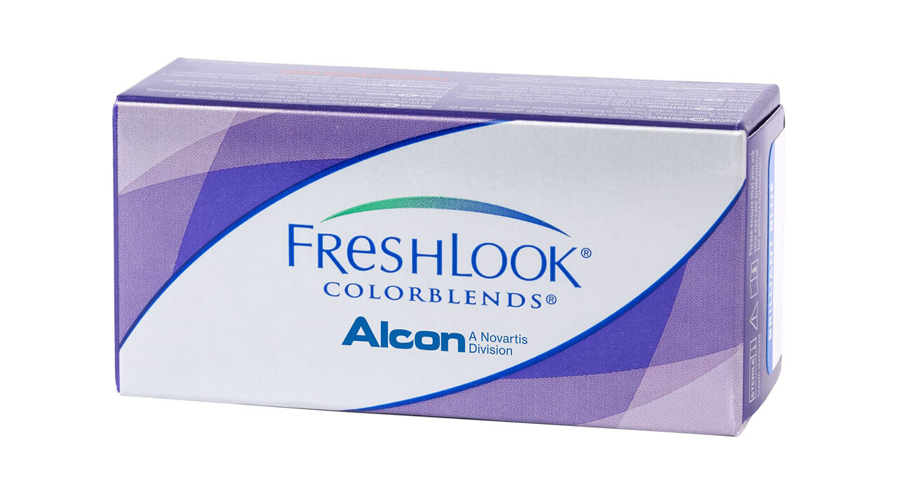 Контактные линзы FreshLook Colorblends 2 линзы 0,00 brown фото