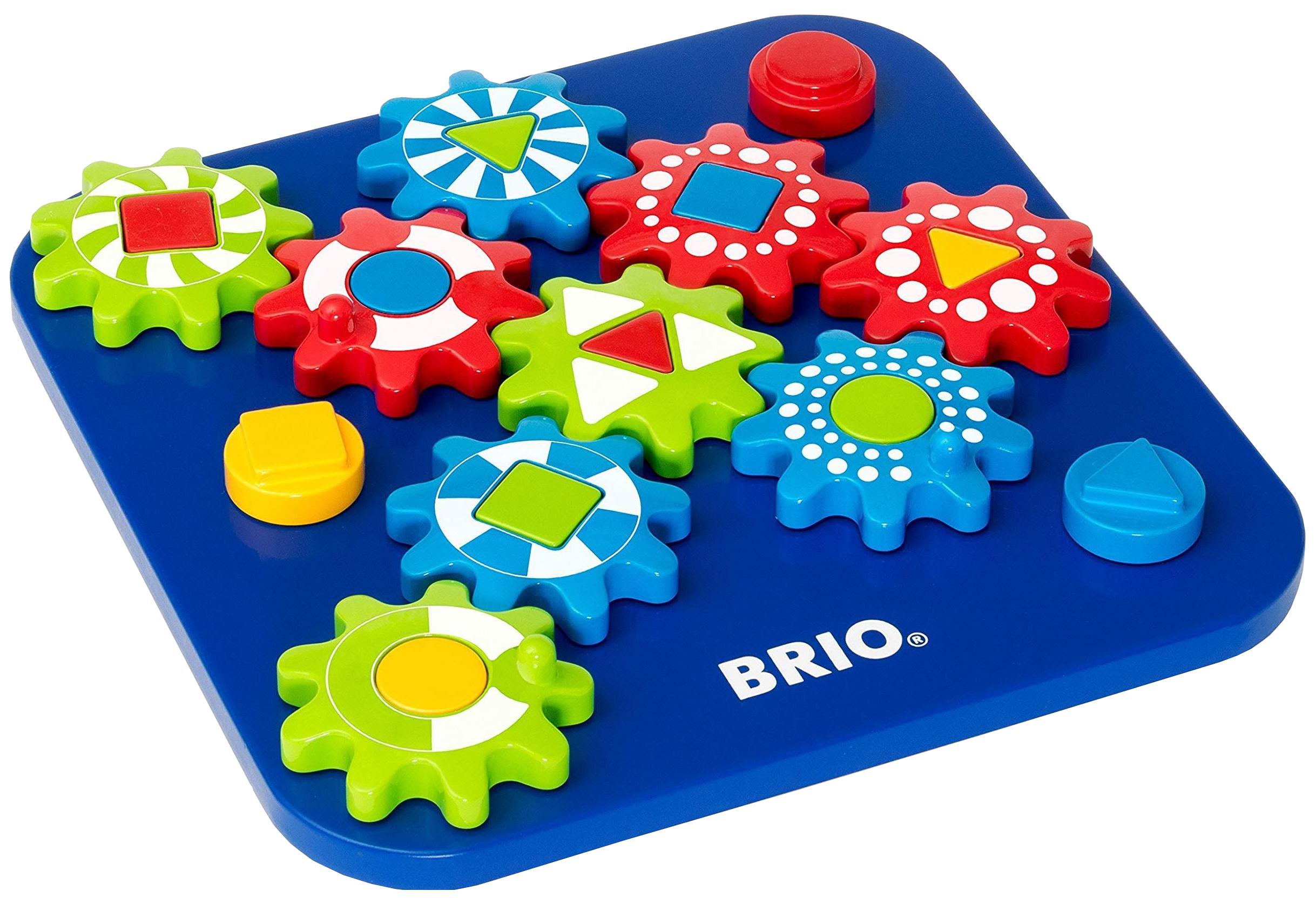 Купить Развивающая игрушка-пазл BRIO Шестерёнки 30188, Развивающие игрушки