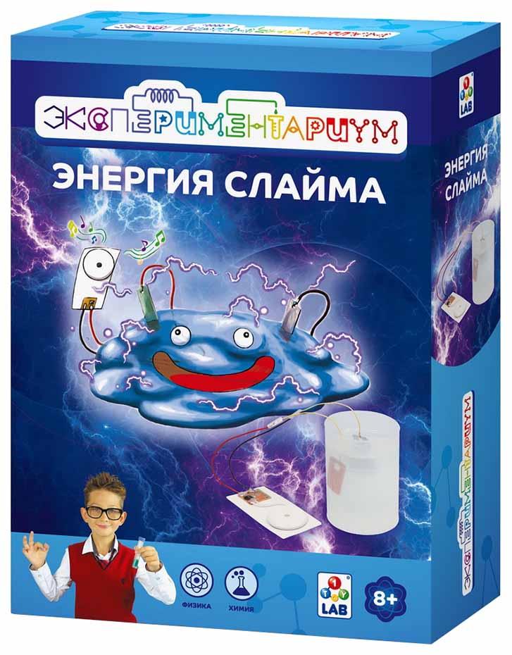 Купить Набор для исследования 1 TOY Экспериментариум Энергия слайма, Наборы для создания слаймов