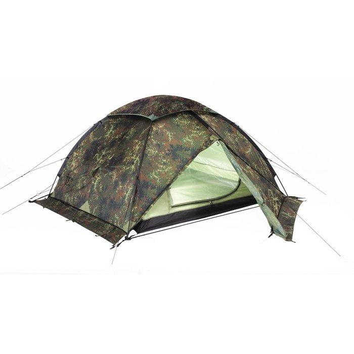 Палатка Tengu Mark 10T трехместная зеленая/коричневая