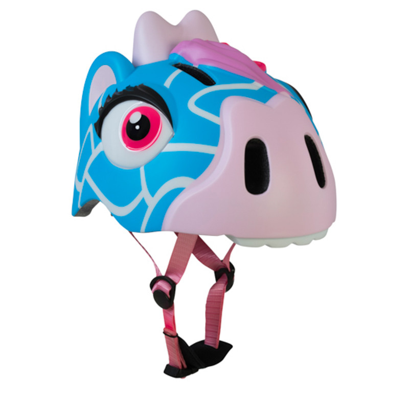 Шлем детский Crazy Safety Blue Giraffe 2017 синий