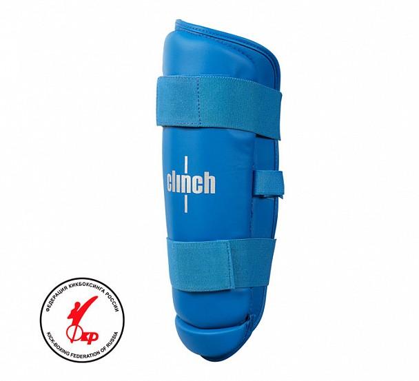 Защита голени Clinch Shin Guard Kick синяя