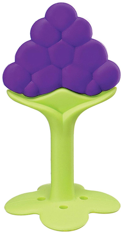 Купить Силиконовый прорезыватель Happy Baby SILICONE TEETHER с ручкой-подставкой Lilac, Прорезыватели