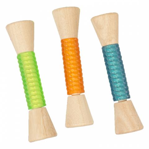 Жевательная игрушка для собак Duvo+ Деревянная палочка с термопластичной резиной, 21 см
