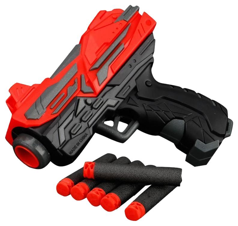 Купить Бластер Наша Игрушка-мини c мягкими пулями арт. FJ839 FJ839, Наша игрушка, Бластеры