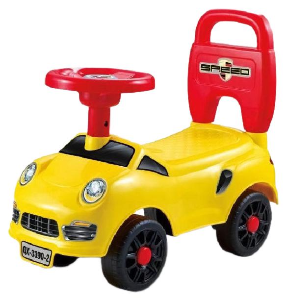 Купить Каталка детская Shantou Gepai Машина желтая QX-3372, Машинки каталки