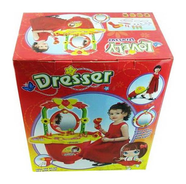 Купить Набор игровой Наша Игрушка Передвижной салон 23 предмета, Наша игрушка, Игрушечные туалетные столики