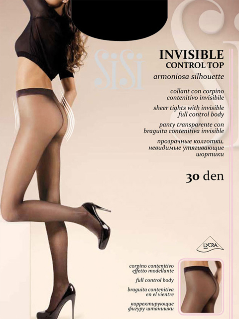 SISI INVISIBLE CONTROL TOP  фото