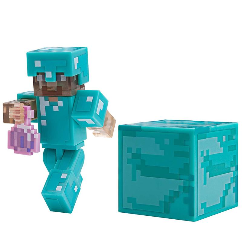 Набор фигурок Jazwares Games: Minecraft: Steve with Invisibility Potion