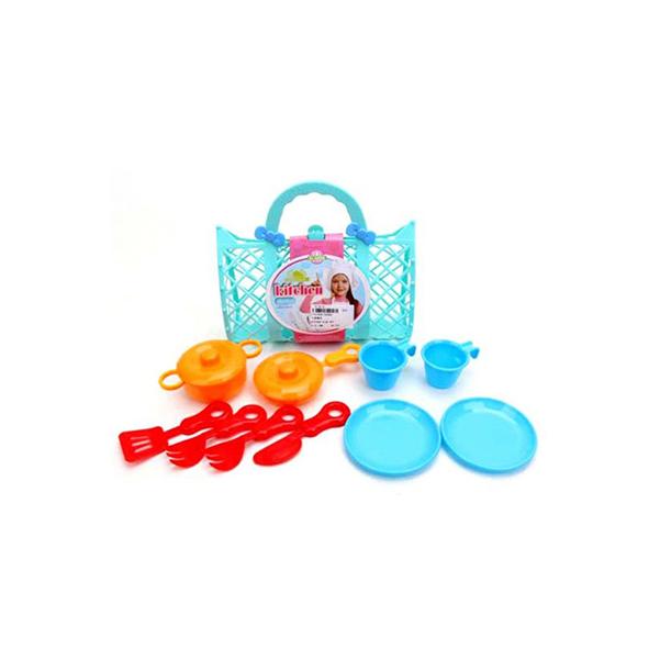 Купить НАША ИГРУШКА Набор посуды, 12 предметов 9506D, Наша игрушка, Игрушечная посуда