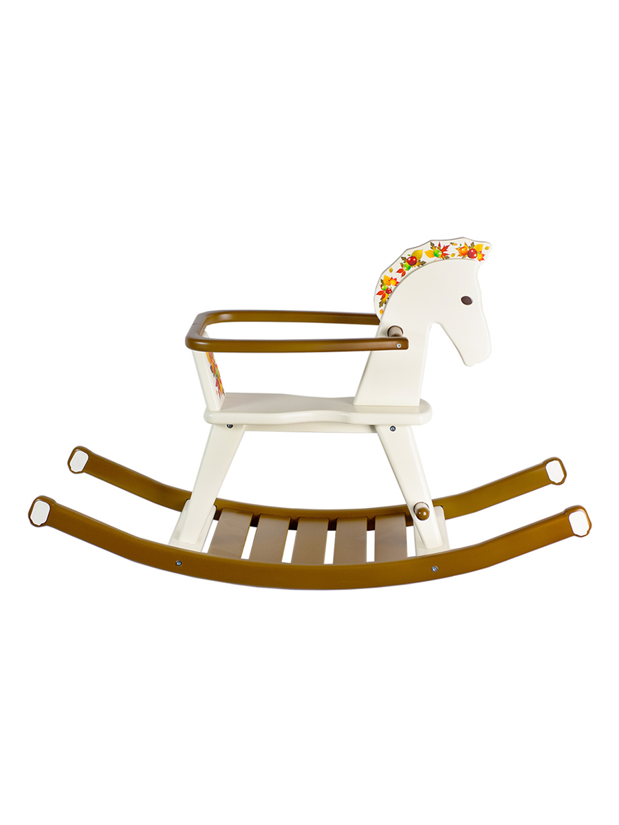 Купить Детская качалка ContinentDECOR лошадка белый, Continent Decor, Качалки детские