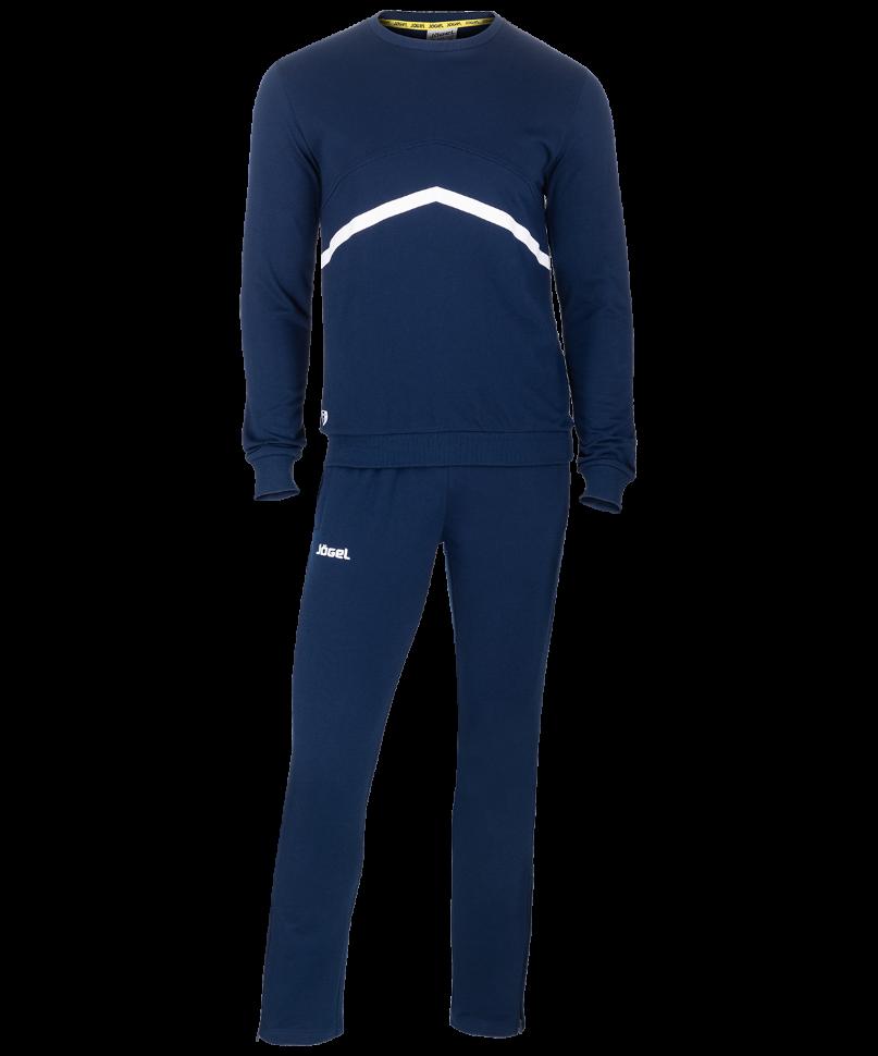 Спортивный костюм Jogel JCS-4201-091, темно-синий/белый, S INT