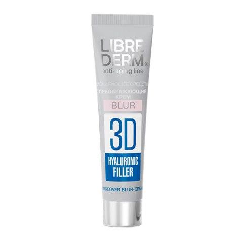 Крем для лица Librederm «3D Гиалуроновый филлер», 15 мл