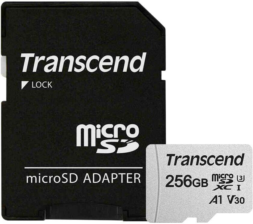 Карта памяти Transcend Micro SDXC 256GB