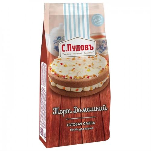 Мучная смесь С.Пудовъ торт домашний 400 г фото