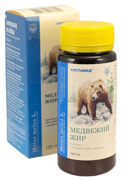 Медвежий жир 100 мл - БАД, Сустамед