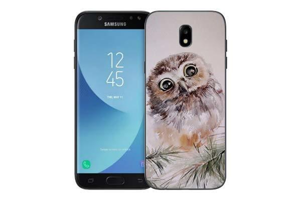 Чехол Gosso Cases для Samsung Galaxy J5 (2017) J530 «Совенок»