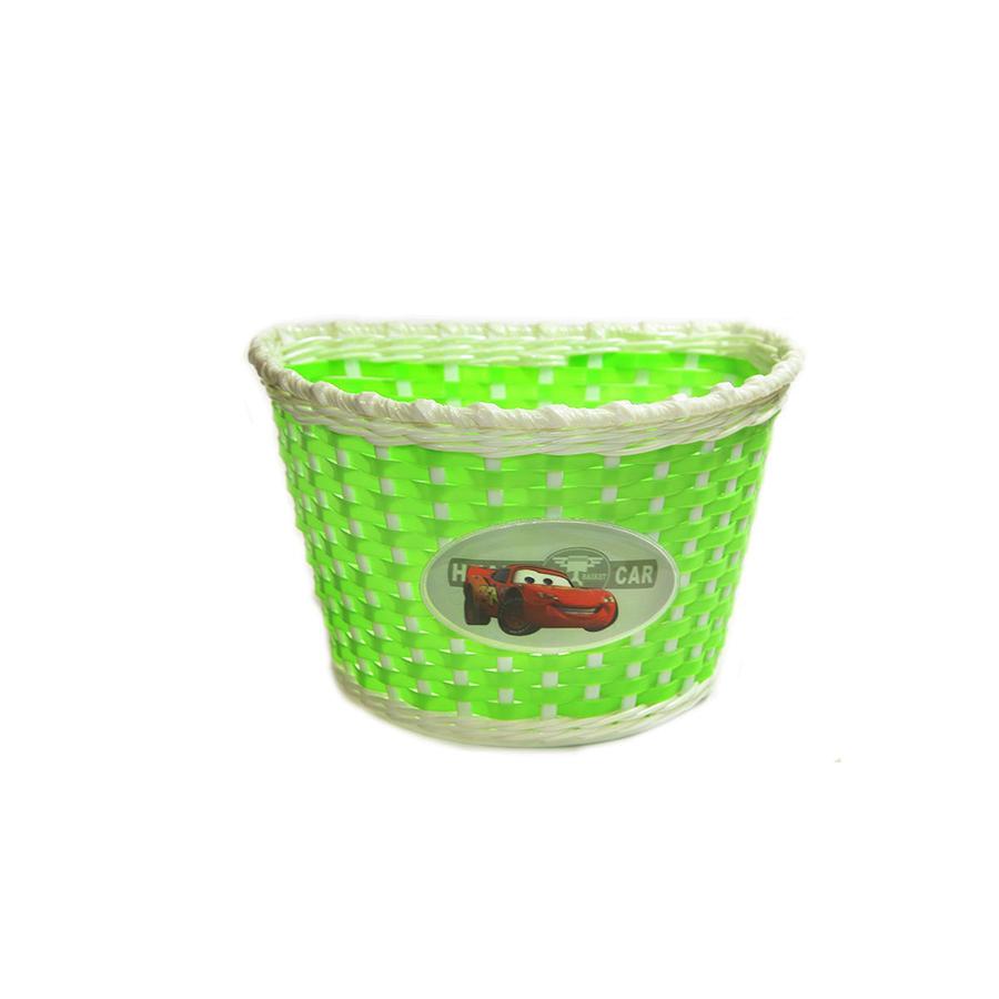 Велокорзина 20' BS03 7, Зеленый/Белый